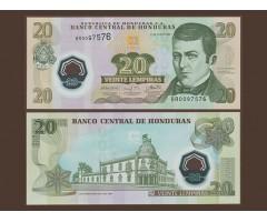 Гондурас 20 лемпир 2008 года