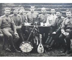 Фотография с музыкальными инструментами