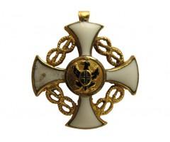 Фрачная миниатюра Ордена Короны Италии