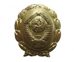 Знак на головной убор служащих Госбанка СССР