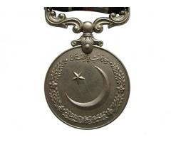 """Военная медаль 1947 года с планкой """"Кашмир 1948"""""""