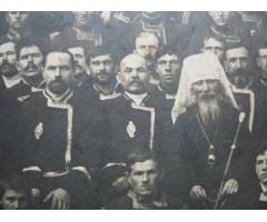 Фотография хоругвеносцев