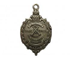 Жетон в память 200-летнего юбилея 27-го пехотного Витебского полка (для нижних чинов).