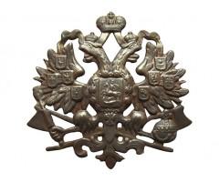 Герб на головной убор инженерных войск