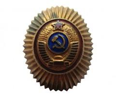 Офицерская милицейская кокарда обр 1947 года