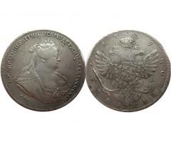 1 рубль 1739 года СПБ
