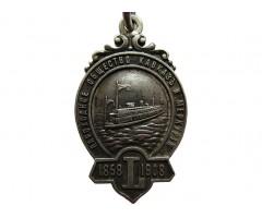 Памятный жетон 50 лет пароходному обществу Кавказ и Меркурий