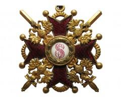 Орден Святого Станислава 3 степени с мечами