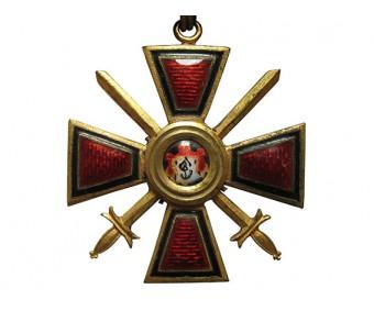 Орден Святого Равноапостольного Князя Владимира 4 степени с мечами