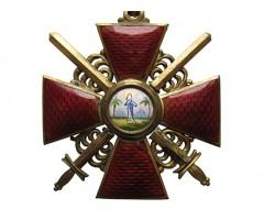 Орден Святой Анны 2 степени с мечами (бронза)