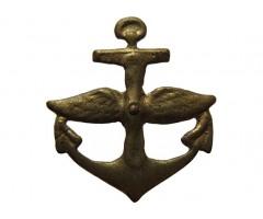 Эмблема пропеллер на якоре
