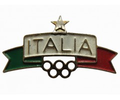 Значок олимпиада Италия