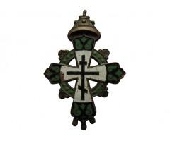 Крест в память 300 - летия дома Романовых (бронза)