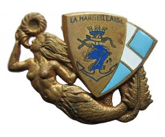 "Франция знак  парохода ""Марсельеза"""