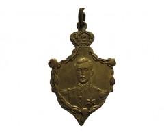 Памятный жетон король-герой Альберт-1