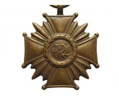 Бронзовый Крест Заслуги