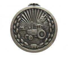 """КНДР  медаль """"За отличие в сельском хозяйстве"""""""