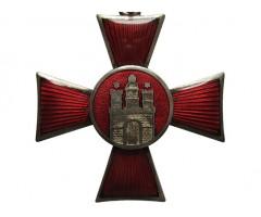 Ганзейский крест города Гамбурга