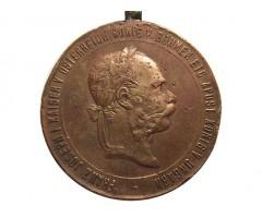 Австро-Венгрия военная медаль 1873 года