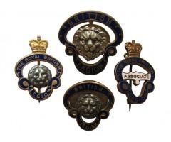 Лот английских полковых знаков