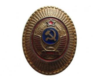 Кокарда милиции образца 1947 года