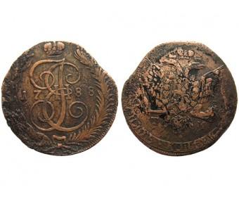 5 копеек 1788 года ТМ