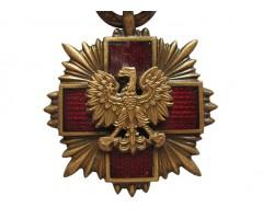 Польша бронзовый Крест Заслуги Польского Красного Креста