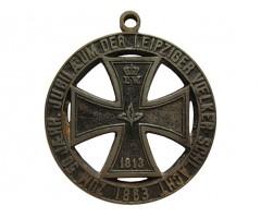 Памятный знак (медаль) 50 лет Лейпцигской битвы