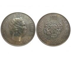 Люксембург 100 франков 1963 года