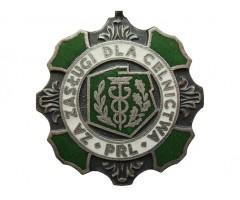 Медаль За заслуги в таможенной службе ПНР 2-й степени.