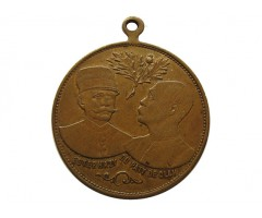 Франция памятная медаль (жетон) по делу Альфреда Дрейфуса