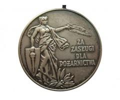 Польша серебряная медаль за службу в добровольной пожарной дружине