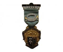 Знак королевского масонского института для мальчиков 1952 год