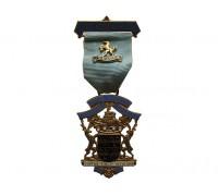 Знак королевского масонского института для мальчиков 1970 год
