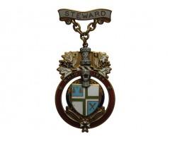 Знак королевского масонского института для девочек 1954  год