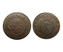 Нассау 1/4 крейцера 1817 года