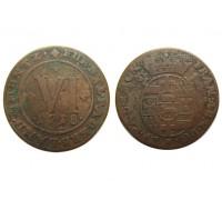 Падерборн 6 пфеннигов 1718 года