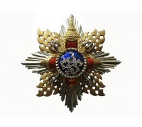 Звезда Ордена Короны Таиланда (рыцарь большой ленты)