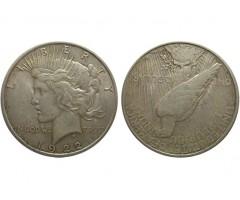 США 1 доллар 1922 года