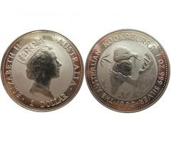 Австралия 1 доллар 1993 года (Кукабарра)