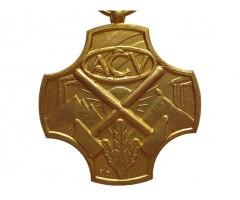 Бельгия медаль Конфедерации христианских профсоюзов. 1-й степени