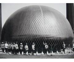 Фотография подготовка воздушного шара перед запуском