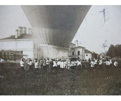 Фотография запуск воздушного шара 1899 год в Белой Церкви