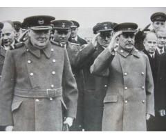 Фотография И.В.Сталин