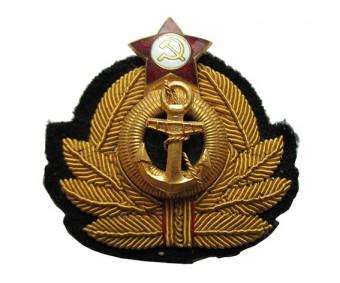 Кокарда (краб) офицера ВМФ СССР