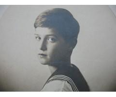 Открытка ЕИВ Наследник Цесаревич Алексей Николаевич