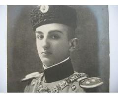 Королевич Георгий раненый в голову на передовых позициях под Белградом