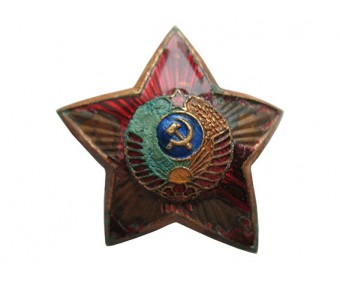 Знак на головной убор сотрудников РКМ
