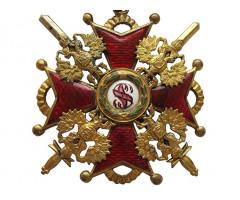 Орден Святого Станислава 2 степени с мечами