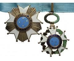 Бразилия орден Южного Креста  II - й степени.